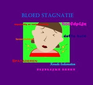 bloed stagnatie (stasis)